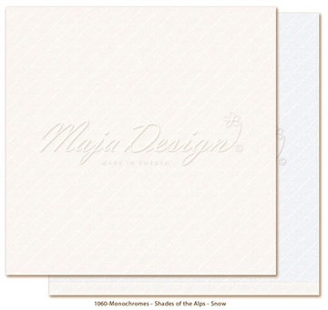 "Happymade - Maja Design - 12x12"" - Shades of the Alps - Snow - 1060"