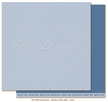 "Happymade - Maja Design - 12x12"" - Shades of the Alps - Frost - 1061"