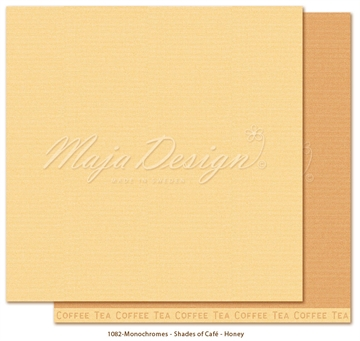 "Happymade - Maja Design - 12x12"" - Shades of Cafe - Honey - 1082"