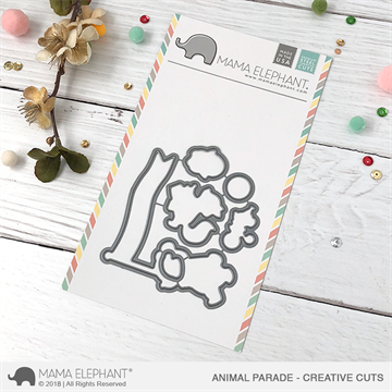 Happymade - Mama Elephant die - Animal Parade