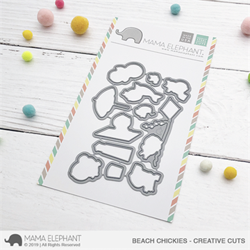 Happymade - Mama Elephant die - Beach Chickies