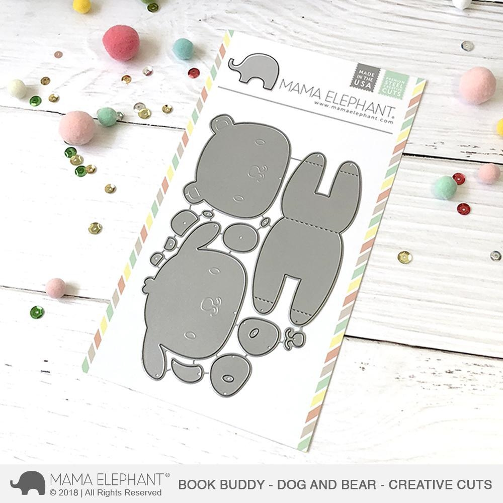 Happymade - Mama Elephant die - Book Buddy