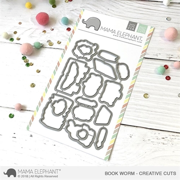 Happymade - Mama Elephant die - Book Worm