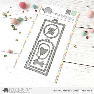 Happymade - Mama Elephant die - Bookmark It