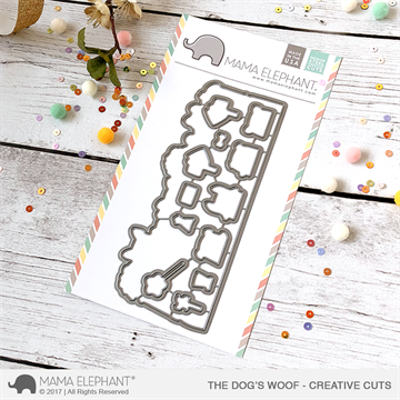 Happymade - Mama Elephant die set - The Dog's Woof