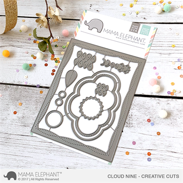 Happymade - Mama Elephant die set - Cloud Nine