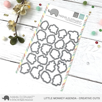 Happymade - Mama Elephant die - Little Monkey Agenda