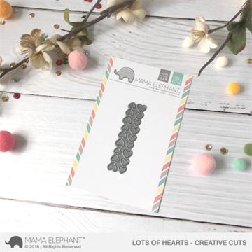 Happymade - Mama Elephant die - Lots of Hearts