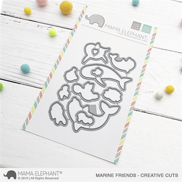 Happymade - Mama Elephant die - Marine Friends