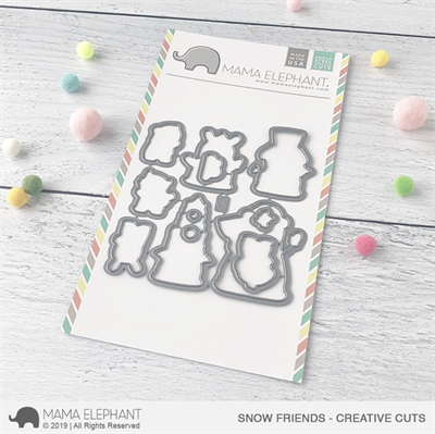 Happymade - Mama Elephant die - Snow Friends