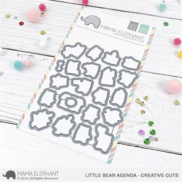 Happymade - Mama Elephant die - Little Bear Agenda