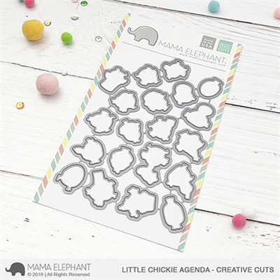 Happymade - Mama Elephant die - Little Chickie Agenda