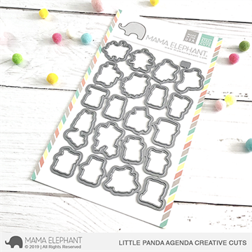Happymade - Mama Elephant die set - Little Panda Agenda