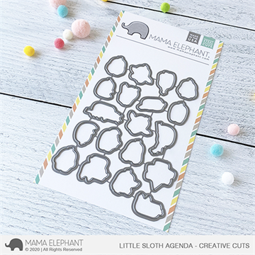 Happymade - Mama Elephant die set - Little Sloth Agenda