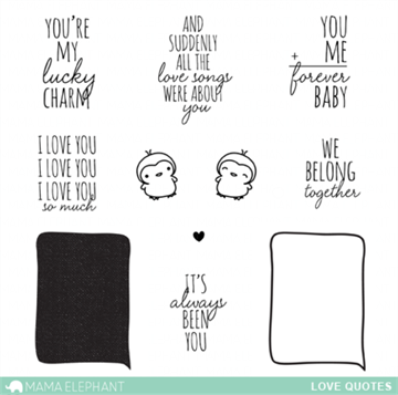 Happymade - Mama Elephant - Love Quotes