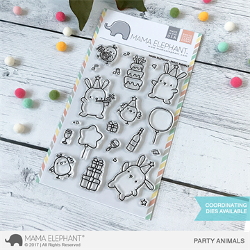 Happymade - Mama Elephant - Party Animals