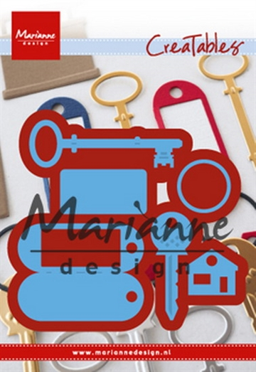 Happymade - Marianne Design - Die - Key Ring