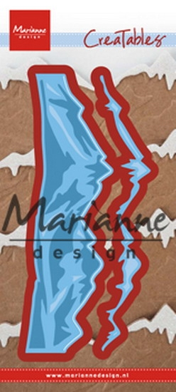 Happymade - Marianne Design - Die - Horizon Snowy Mountains