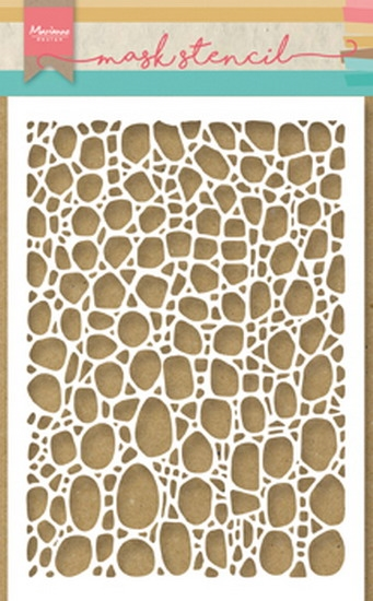 Happymade - Marianne Design - Mask stencil - Cobble stone (PS8001)