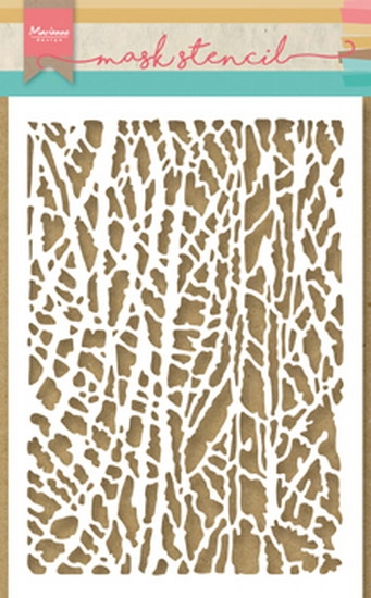 Happymade - Marianne Design - Mask stencil - Bark (PS8003)