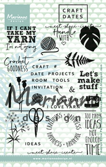 Happymade - Marianne Design clear stamp - EC0166