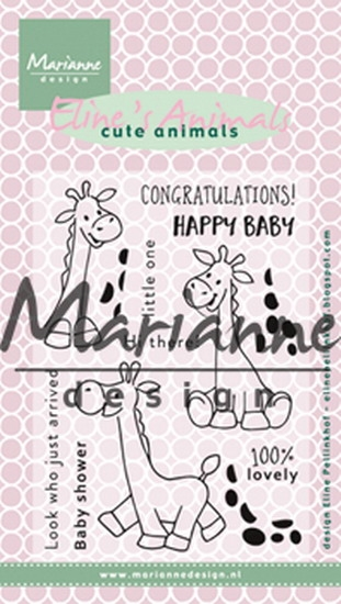 Happymade - Marianne Design clear stamp - EC0169