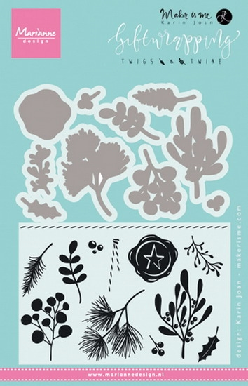 Marianne Design - Clear stamp - Twigs & Twine