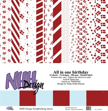 Happymade - NHH Design - Papers - All in One - Birthday (NHHP504)