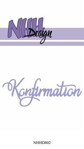 Happymade - NHH Design - Tekst die - NHHD802 - Konfirmation