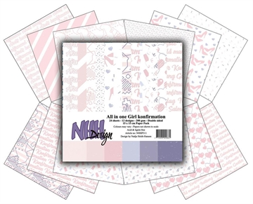 Happymade - NHH Design - Papers - All in One - Girl Konfirmation (NHHP311)