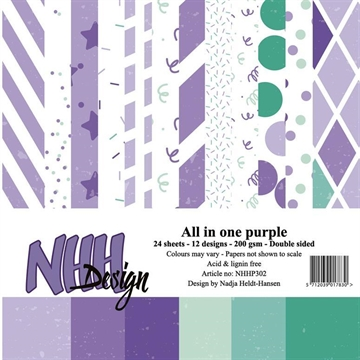 Happymade - NHH Design - Papers - All in One - Purple (NHHP302)