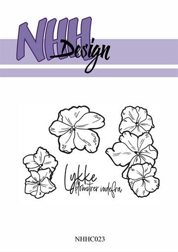 Happymade - NHH Design - Clear Stamp - NHHC23 - Blomster