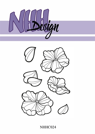 Happymade - NHH Design - Clear Stamp - NHHC24 - Blomster