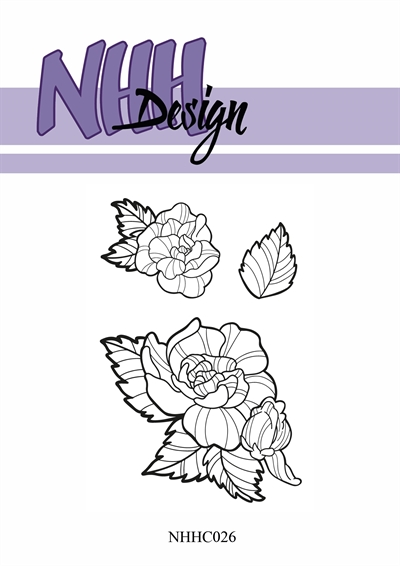 Happymade - NHH Design - Clear Stamp - NHHC26 - Blomster