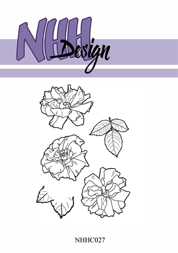 Happymade - NHH Design - Clear Stamp - NHHC27 - Blomster
