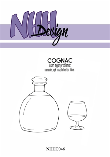 Happymade - NHH Design - Clear Stamp - NHHC046 - Cognac