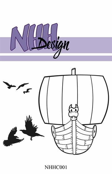 Happymade - NHH Design - Clear Stamp - NHHC001 - Vikingeskib
