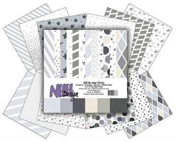 Happymade - NHH Design - Papers - All in One - Grey (NHHP314)