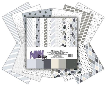 Happymade - NHH Design - Papers - All in One - Grey (NHHP514)