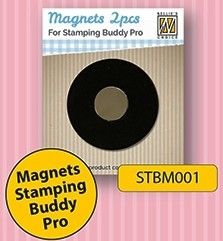 Happymade - Nellie Snellen - Magnets for Stamping Buddy Pro - Pakning m/2 stk.