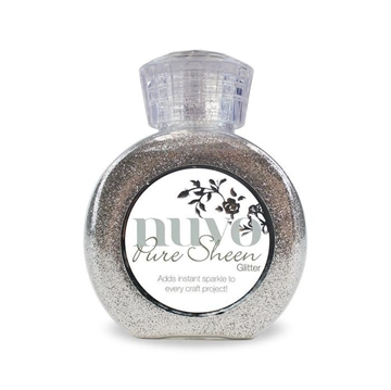 Happymade - Nuvo Pure Sheen Glitter - Silver - 704N