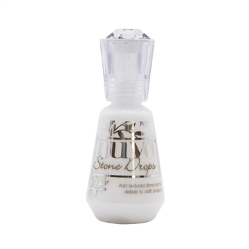 Happymade - Nuvo Stone Drops - Chalk White - 1296N (30ml)