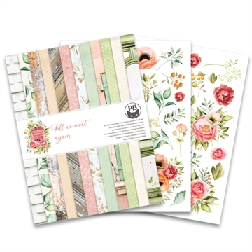 "Happymade - Piatek - Design papers - Till We Meet Again - 6x8"" (pakn. m/24 + 2 bonus ark)"