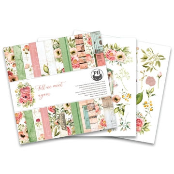 "Happymade - Piatek - Design papers - Till We Meet Again - 6x6"" (pakn. m/24 + 2 bonus ark)"