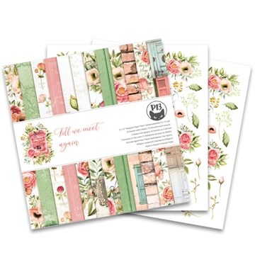 "Happymade - Piatek - Design papers - Till We Meet Again - 12x12"" (pakn. m/12 + 2 bonus ark)"