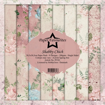 "Happymade - Paper Favourites - Design papers - 12x12"" - Shabby Chic (PF301)"