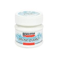 Pentart - Snow Paste - White (50ml)