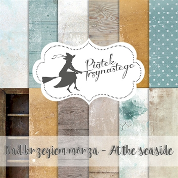 "Happymade - Piatek - Design papers - At the Seaside - 12x12"" (pakn. m/6 ark)"