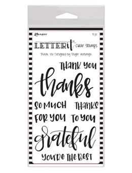 Happymade - Letter it - Thank you
