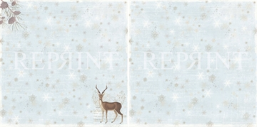 Happymade - RePrint - Nordic Light - Reindeer - RP0245